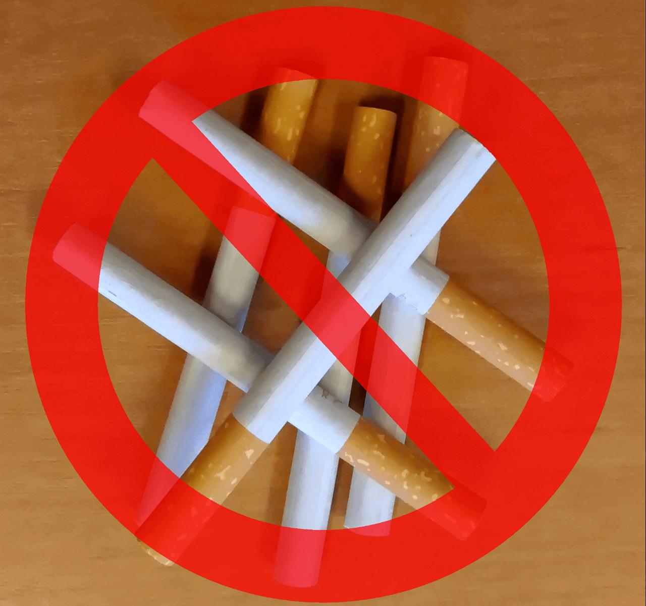 ترک سیگار در کمپ
